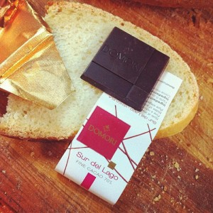 Pane e cioccolato Domori