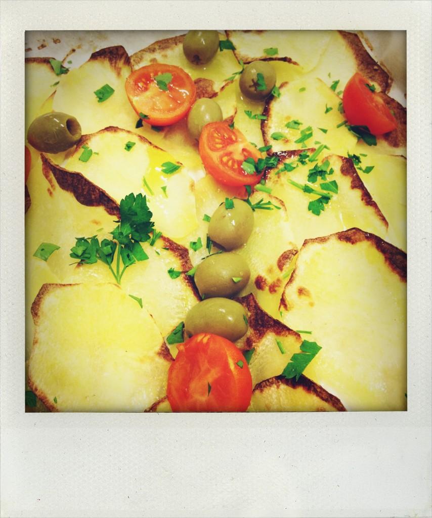 filetti di orata con patate