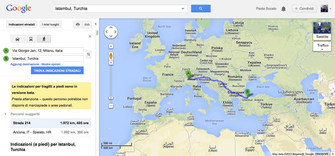 Cartina Mondo Turchia.Da Me A Te Da Domani 1972 Km Il Blog Di Ci Polla