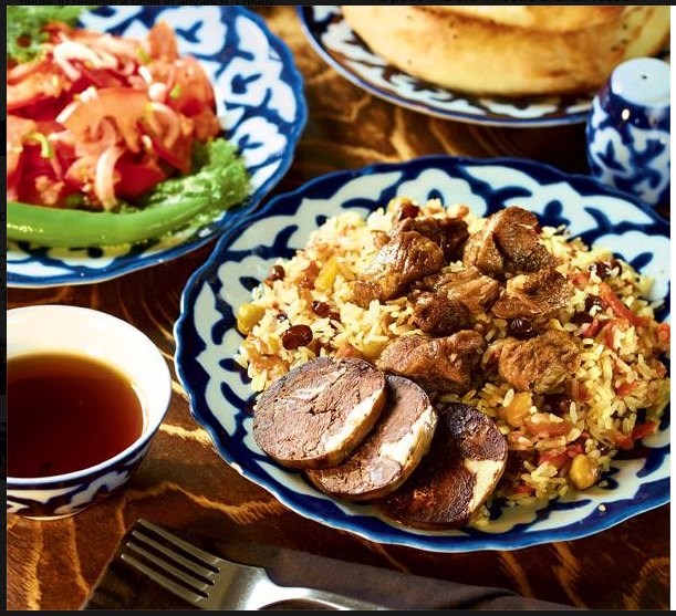 Liberty 38, cucina uzbeka